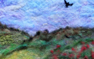 Landscape Felt Paintings