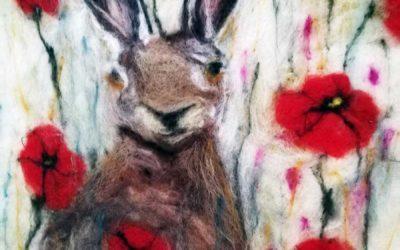 Animal Felt Paintings Gallery
