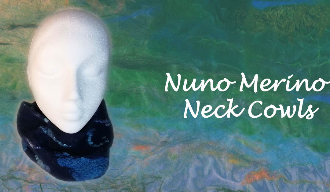 Handmade Merino wool and Silk Numo Cowls